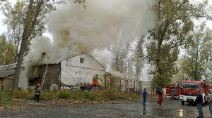 Pożar nie zatrzyma sprzedaży Praskiej Stalowni