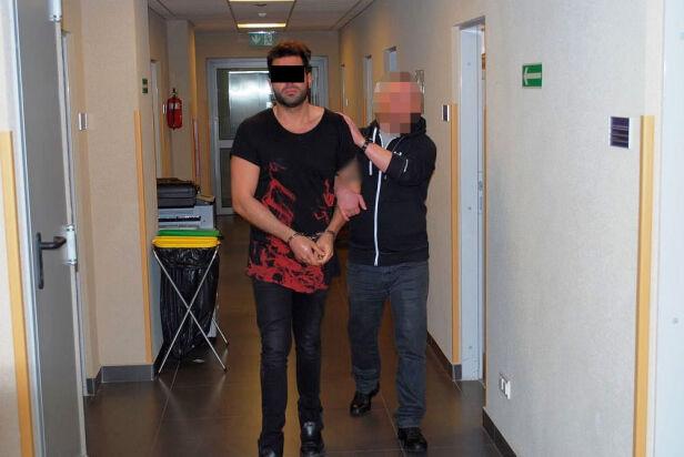 Mężczyzna zatrzymany przez policję ksp