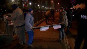 Zdemontowali barierki przed Sejmem