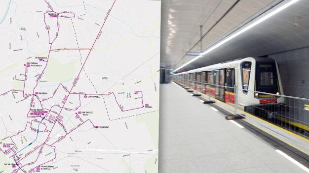 Jak pojadą autobusy po otwarciu metra na Targówku? Jest propozycja ZTM