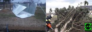 Ponad 15 tysięcy odbiorców bez prądu. Skutki porywistego wiatru