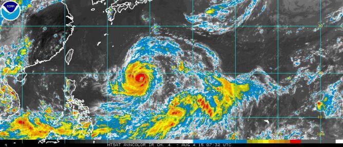 Cyklon przemieszcza się w kierunku Tajwanu, Japonii oraz Chin