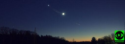 Koniunkcja Gwiazdy Wieczornej z Księżycem