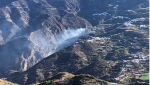 Pożary na Gran Canarii (PAP/EPA/GEA Canarias HANDOUT)