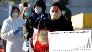 Ponad 180 tysięcy potwierdzonych zakażeń koronawirusem. Sprawdź statystyki
