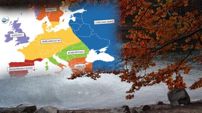 Amerykańska prognoza pogody na jesień. Co czeka Polskę?
