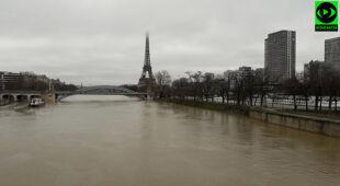 Zagrożenie powodzią we Francji
