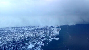 """Ekstremalne śnieżyce w USA spowodowane """"efektem jezior"""""""