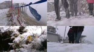 """""""Idzie zima w góry"""". W Tatrach pada śnieg"""
