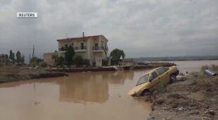Powodzie w Grecji